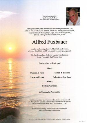 Portrait von FUXBAUER Alfred