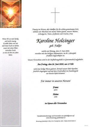 Portrait von HOLZINGER Karoline