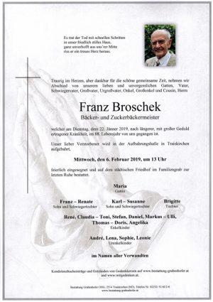 Portrait von BROSCHEK Franz