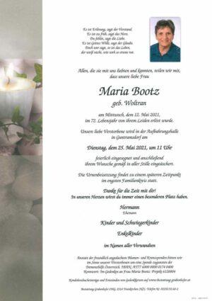 Portrait von BOOTZ Maria