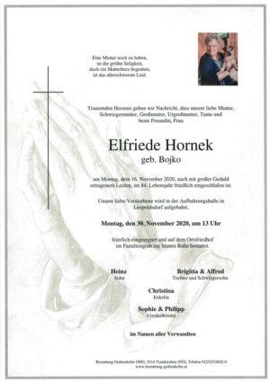 Portrait von HORNEK Elfriede