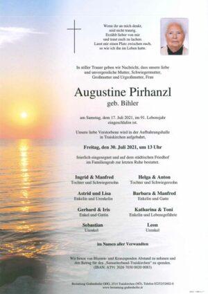 Portrait von PIRHANZL Augustine