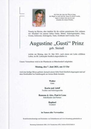 Portrait von PRINZ Augustine