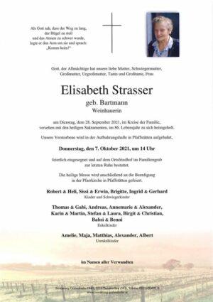 Portrait von STRASSER Elisabeth