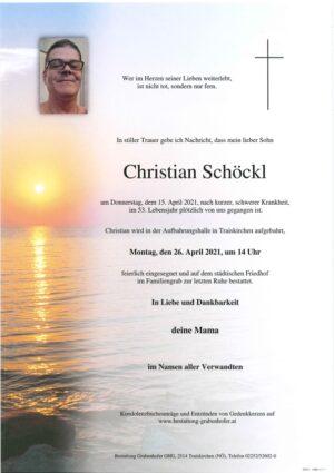 Portrait von SCHÖCKL Christian