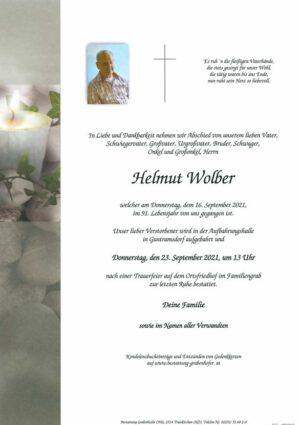 Portrait von WOLBER Helmut