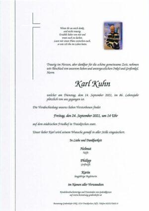 Portrait von KUHN Karl