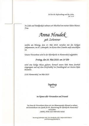 Portrait von HOUDEK Anna