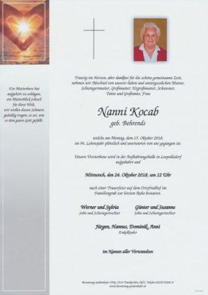 Portrait von KOCAB Nanni