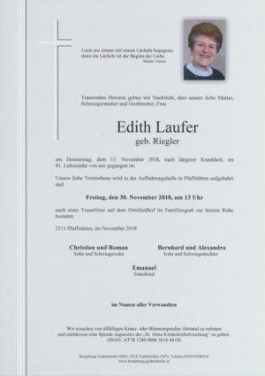 Portrait von LAUFER Edith