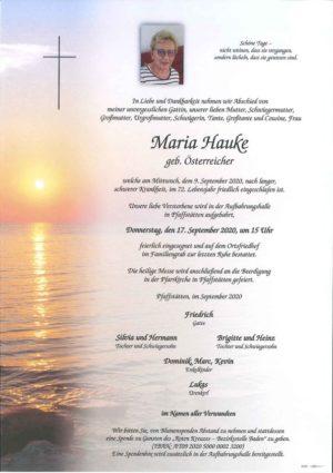 Portrait von HAUKE Maria