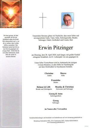 Portrait von PITZINGER Erwin