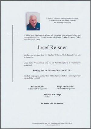Portrait von REISNER Josef