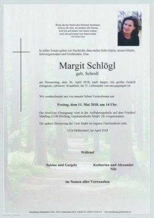 Portrait von SCHLÖGL Margit