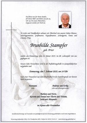 Portrait von STAMPFER Brunhilde