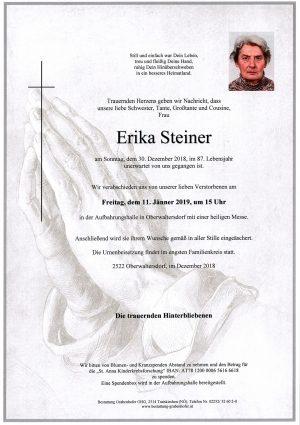Portrait von STEINER Erika