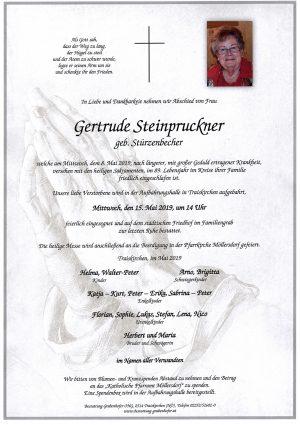 Portrait von STEINPRUCKNER Gertrude