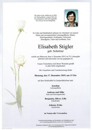 Portrait von STIGLER Elisabeth