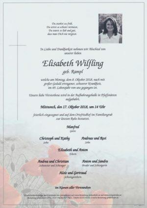 Portrait von WILFLING Elisabeth