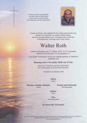 Portrait von ROTH Walter