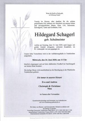 Portrait von SCHAGERL Hildegard