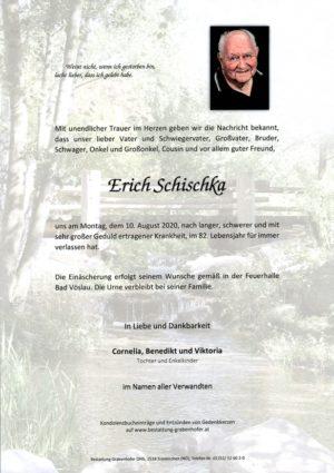 Portrait von SCHISCHKA Erich