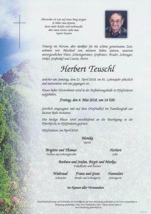 Portrait von TEUSCHL Herbert