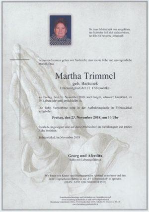 Portrait von TRIMMEL Martha
