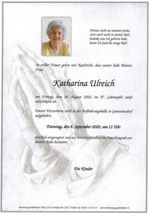 Portrait von ULREICH Katharina